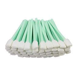 "100pc 5.1"" Square Rectangle Foam Cleaning Swab Sticks for So"