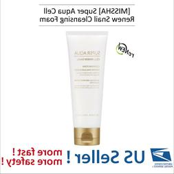 MISSHA Super Aqua Cell Renew Snail Cleansing Foam - US Selle