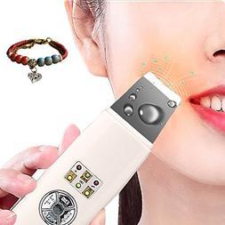 Household Facial Skin Scrubber Ultrasonic remove dead skin c