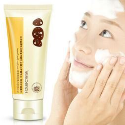 Volcanic Mud Foam Cleanser Facial Moisturizing Shrink Pores