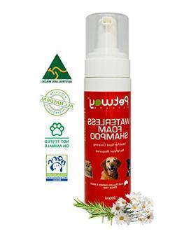 Petway Petcare Waterless Foam Shampoo – No Rinse Waterless