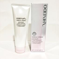 Shiseido White Lucent Brightening Cleansing Foam w CHOOSE SI