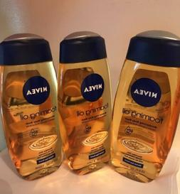 Nivea Foaming Oil Moisturizing Body Wash Herbal Spa Scent 1